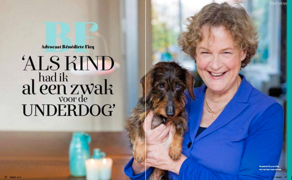 Benedicte Ficq in Margriet: 'Tabaksindustrie is misdadig'