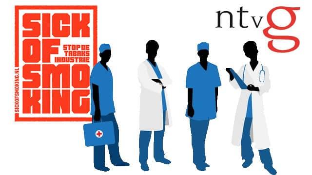 Artsen steunen strijd tegen de tabaksindustrie en manen de politiek