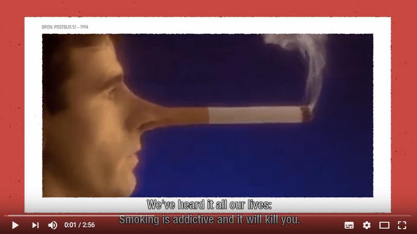 Roken? Dat is geen vrije keus.