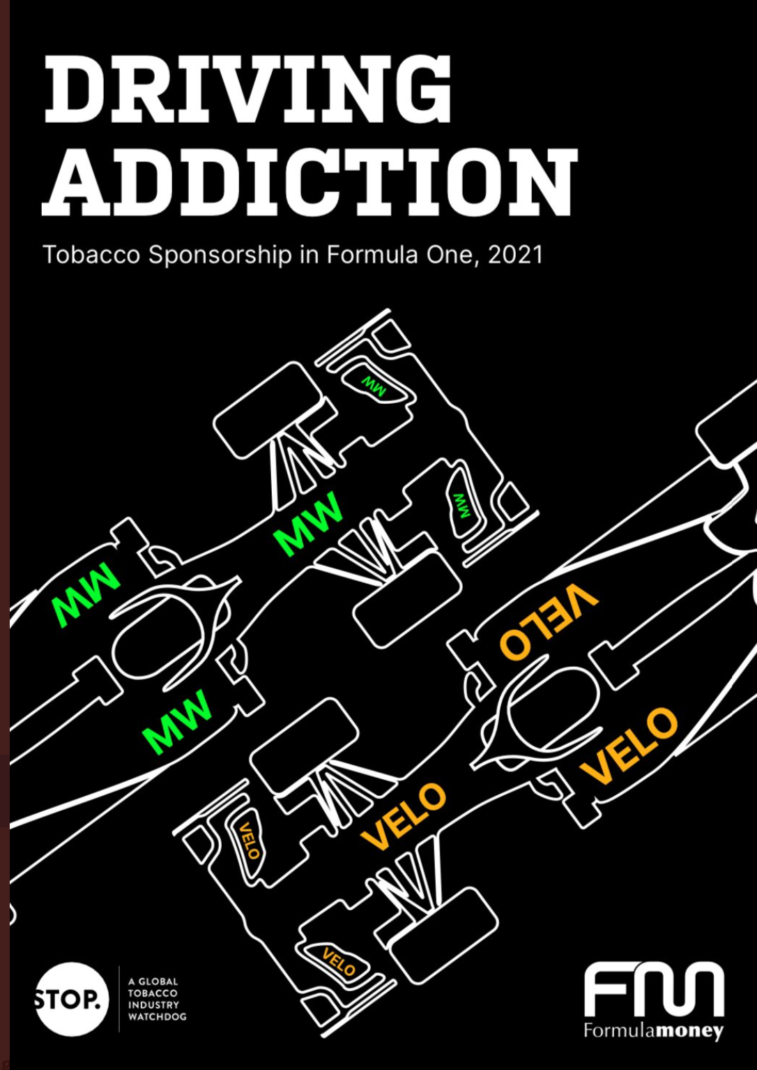 Formule 1 mede mogelijk gemaakt door de tabaksindustrie